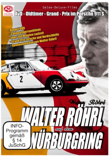 Walter Röhrl auf dem Nürburgring - AvD-Oldtimer-Grand-Prix im Porsche 911S [2 DVDs]
