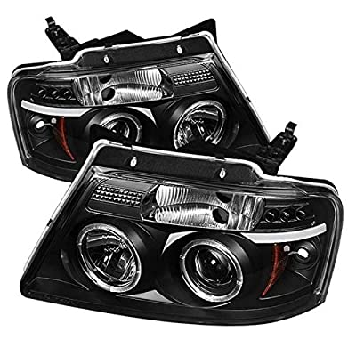 Spyder Auto Ford F150 Version 2 Halogen LED Projector Headlight