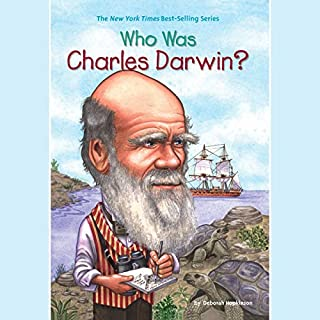 Who Was Charles Darwin? audiobook cover art