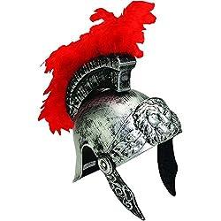 Roman Soldier Silver helmet costume
