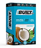Built Bar 18 Pack Protein and Energy Bars - 100% Real...