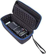 Casematix Radio Case Compatible with Cb Radios Midland 75822, Uniden Bc75xLt, Midland 75785 or Uniden Bcd436hp 40 Channel Cb 2 Way Radio, Must Remove Antennae, Includes Case Only