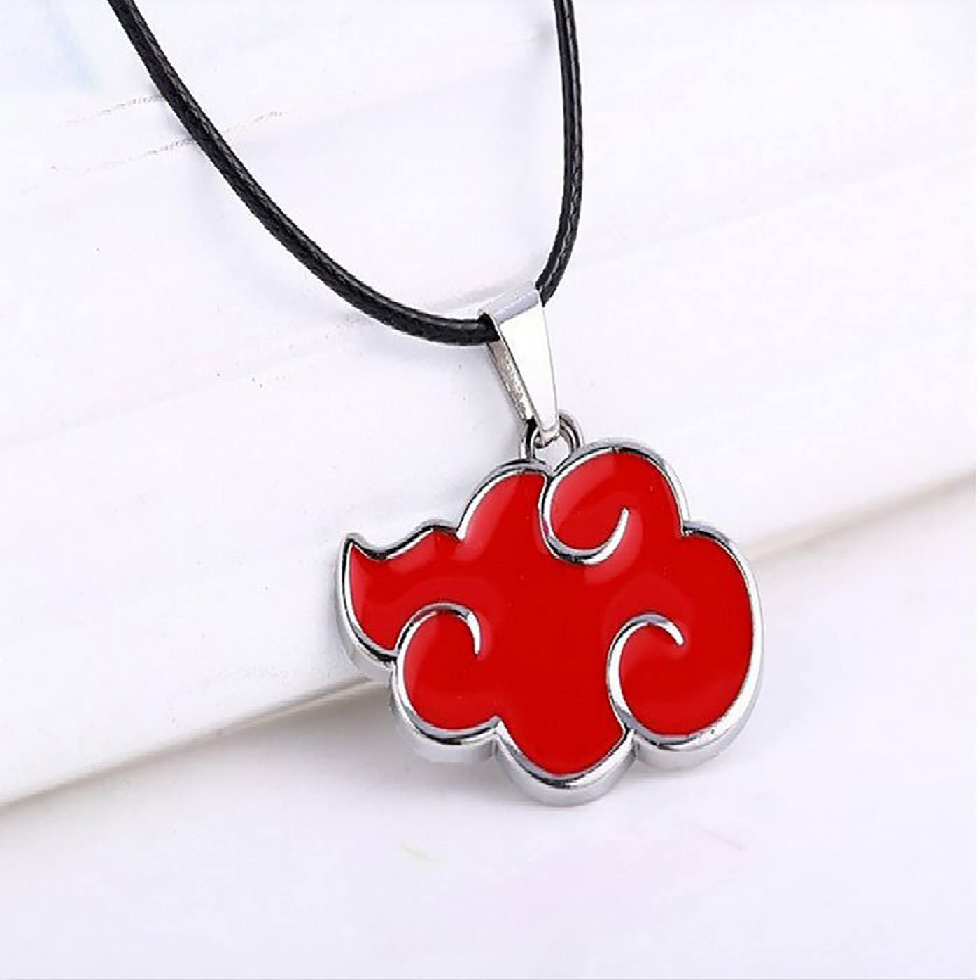 Anime Akatsuki Red Cloud Miami Mall Locket Necklace Floating sold out Environmental