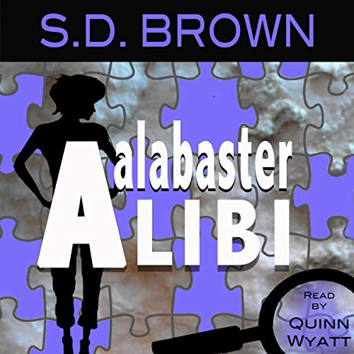 Alabaster Alibi audiobook cover art