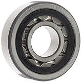 FAG NU206E-TVP2 cuscinetto a rulli cilindrici, singola fila, foro diritto, anello interno rimovibile, alta capacità, gabbia in poliammide, spazio normale, ID 30mm, diametro 62mm, larghezza 16mm