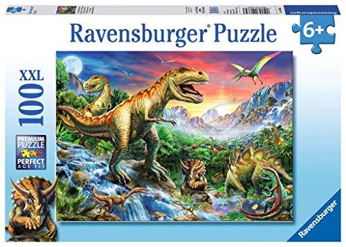 Ravensburger Kinderpuzzle 10665 - Bei den Dinosauriern - 100 Teile