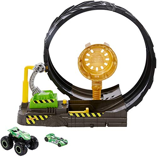 Buy Hot Wheels Monster Truck Epic Loop Challenge Play Set With Truck And Car Toys R Us