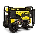 Champion Power Equipment 100538 Portable Generator, 7500-Watt, Black/Yellow