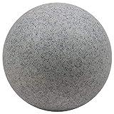 Heitronic 35958 Bodenleuchte, EE27, Kunststoff, grau