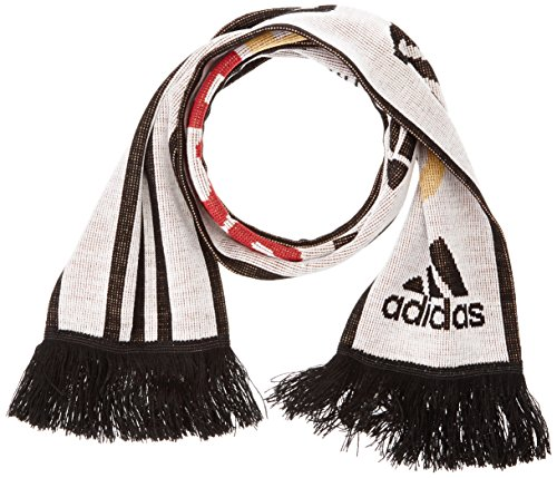 adidas Erwachsene Schal CF Deutschland, White/Black, OSFM