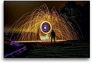 Calvendo Premium Lienzo 45 x 30 cm Formato Horizontal Visions of Light Art Photography, Cuadro de Alta definición sobre Bastidor, premontado en Fieltro Oliver Pinkoss Photostorys Arte Arte