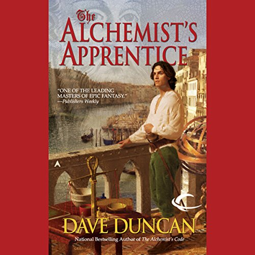 The Alchemist's Apprentice audiobook cover art