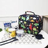 ETOPARS Bolsa de Almuerzo para Niños 6L Térmica Porta Alimentos Bolsa Térmica Plegable Bolso Nevera para Adulto Mujer Niños Escolar Oficina Playa Picnic con Correa