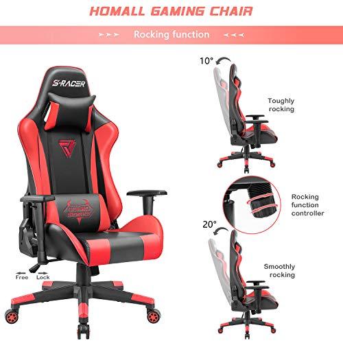 Homall Racing Gaming Chair...