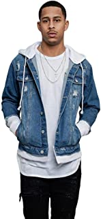 Victorious Distressed Denim Jacket