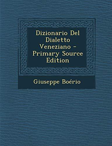 Dizionario del Dialetto Veneziano