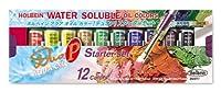 ホルベイン 油絵具 アクアオイルカラー DUO スターターセット DU911 10ml(4号) 023911