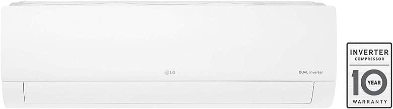 LG 1 Ton 5 Star Inverter Split AC (Copper, KS-Q12ENZA, White)