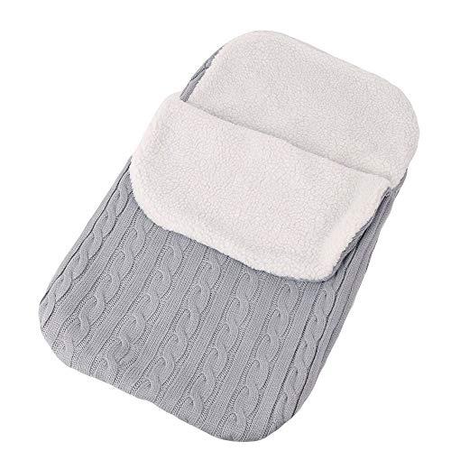 Saco de abrigo de dormir en invierno para carritos, Manta de cochecito de...
