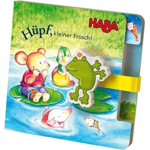 Haba 5371 Hüpfbuch Frosch