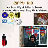Run from City of Dallas to Dresden Or Create Article about Zippy Kid in Wikipedia