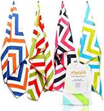 YOYOPA Oversized Microfiber Travel Beach Towel : Extra Large, Quick Dry Pool and Swim Towels for Kids or Adults - Lightweight and Packable Towel with Travel Bag - 78 Inches by 35 Inches