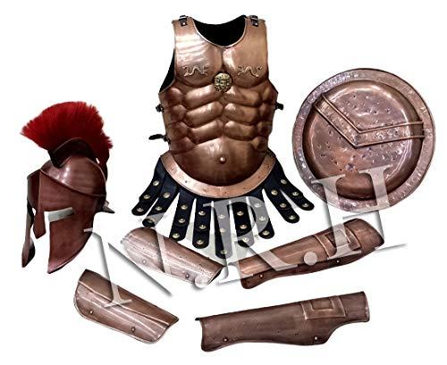 nautical gifts shop Medieval 300 Spartan Shield 18 Greek King Leonidas Gear of War Armor Shield