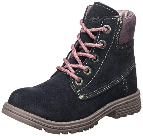 Lurchi Ria-Tex, Desert Boots Fille, Bleu (Navy 22), 25 EU