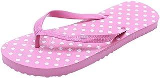 Summer Polka Dot Beach Slippers Non-Slip Casual Shoes