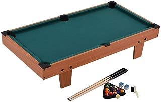 FJFJFJ Mini Billiard Table, Pool Billiard Cue, Suitable for Children's Entertainment, Development of Children's Intelligence, Etc