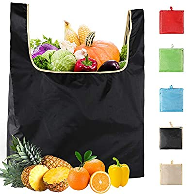 Reusable-Grocery-Shopping-Bags-Eco-Friendly-Washable-Women Premium Lightweight Net Zero Bulk Tote bag For Veggie Fruit Vegetable Toys Supermarket Storage Gifts