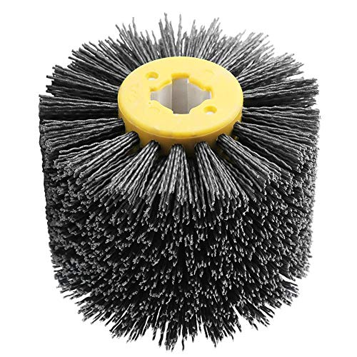Polijstwiel, Ontbraam Schurende draad Polijsten Polijstborstelwiel voor meubel houtbewerking korrel 180, Geschikt voor soorten oppervlak