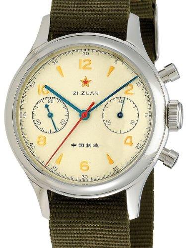 Seagull 1963Hand Wind Mechanische Chronograph mit Saphirglas 6345g-2901