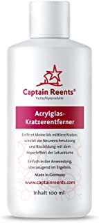 Captain Reents Acrylglas politoer, 125 ml, premium kunststof, krasverwijderaar, biologisch afbreekbaar, leuke kunststof po...
