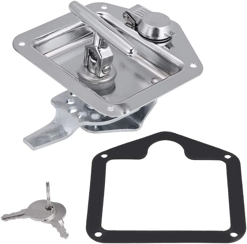 T-Shape Handle 5 ☆ very popular Lock for excellence Truck Stainless T Folding Steel Trailer