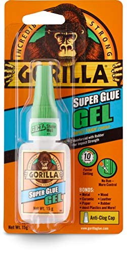 Gorilla Gel de pegamento, 15 gramos, transparente, 15 g, 1 unidad, Transparente