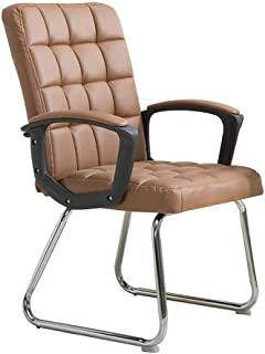 Nowoczesne Proste Krzesło biurowe Pracownicy Krzesełko, Ergonomiczne oparcie, Siedzenie PU, Krzesło biurko Krzesło Executive