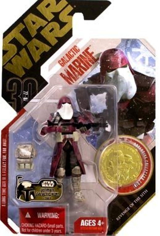 70% de descuento Estrella Estrella Estrella Wars 30th Anniversary Revenge of The Sith Galactic Marino with Exclusive Collector oro Coin (  02) by Hasbro (English Manual)  calidad fantástica