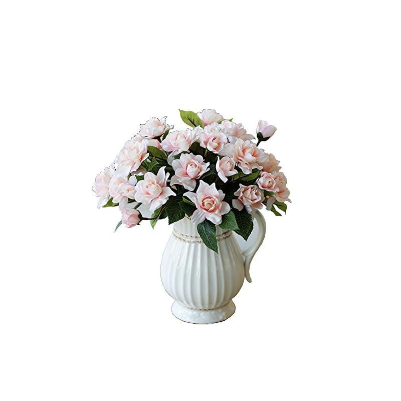 silk flower arrangements lopkey upscale decor silk artificial gardenia flower,pink