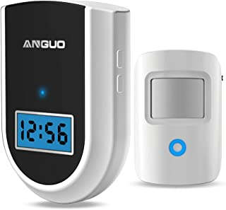 Wireless Doorbell, ANGUO Home Security doorbell Alarm with 1 Receiver&1 Push Button, YXYCC077