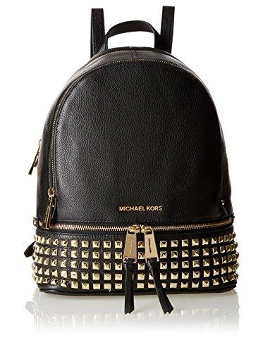 Michael Kors Backpack Rhea Small Studded Backpack Black
