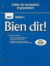 Bien dit!: Cahier de vocabulaire et grammaire Level 2