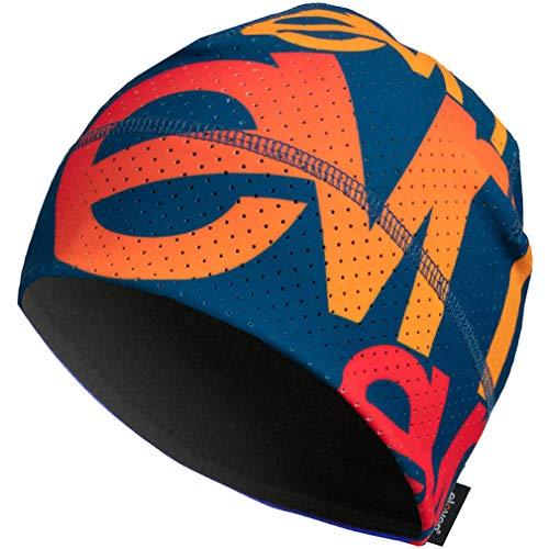 Eleven Sportmütze für Laufen, Radfahren, Wandern, aktiver Lebensstil und Skifahren   Laufmützen für Damen, Herren und Kinder   Funktionelle Mütze mit Belüftung Air (Team EVN Blue, M (54-57cm))