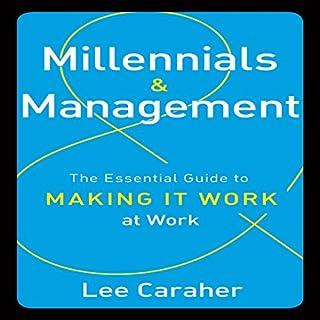 Millennials and Management audiobook cover art