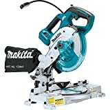 Makita XSL05Z 18V LXT Lithium-Ion Brushless Cordless 6-1/2' COMPACT Dual-Bevel...