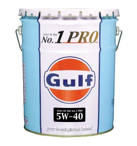 Gulf [ ガルフ ] Gulf No,1PRO [ ガルフNo,1プロ ] 5w40 全合成油 [ 20L ]  [HTRC3]