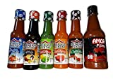 Set of Castillo Salsas Mexico Lindo with Amor Hot Sauce - 6 Items