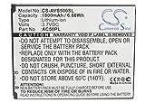 Cameron Sino 1800mAh Li-ION Batterie de Rechange pour Archos 50, 50 Platinum, 50 Helium 4G, Platinum 50, Compatible avec...
