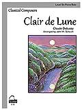 Clair de Lune: Schaum Level Six Piano Solo (Schaum Publications Sheet Solo)