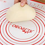ALIPOBO Extra Large Pastry Mat XXL 32' X 24', Non Stick Silicone Pastry Mat for Rolling Dough Counter Top Mat, Pie Crust Mat XXL